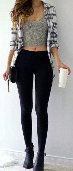 187f0cbecf81bc ✅Botines ✅ Blusa ✅ Camisa ✅ Leggins ✅Collar | Fashion | Fashion ...