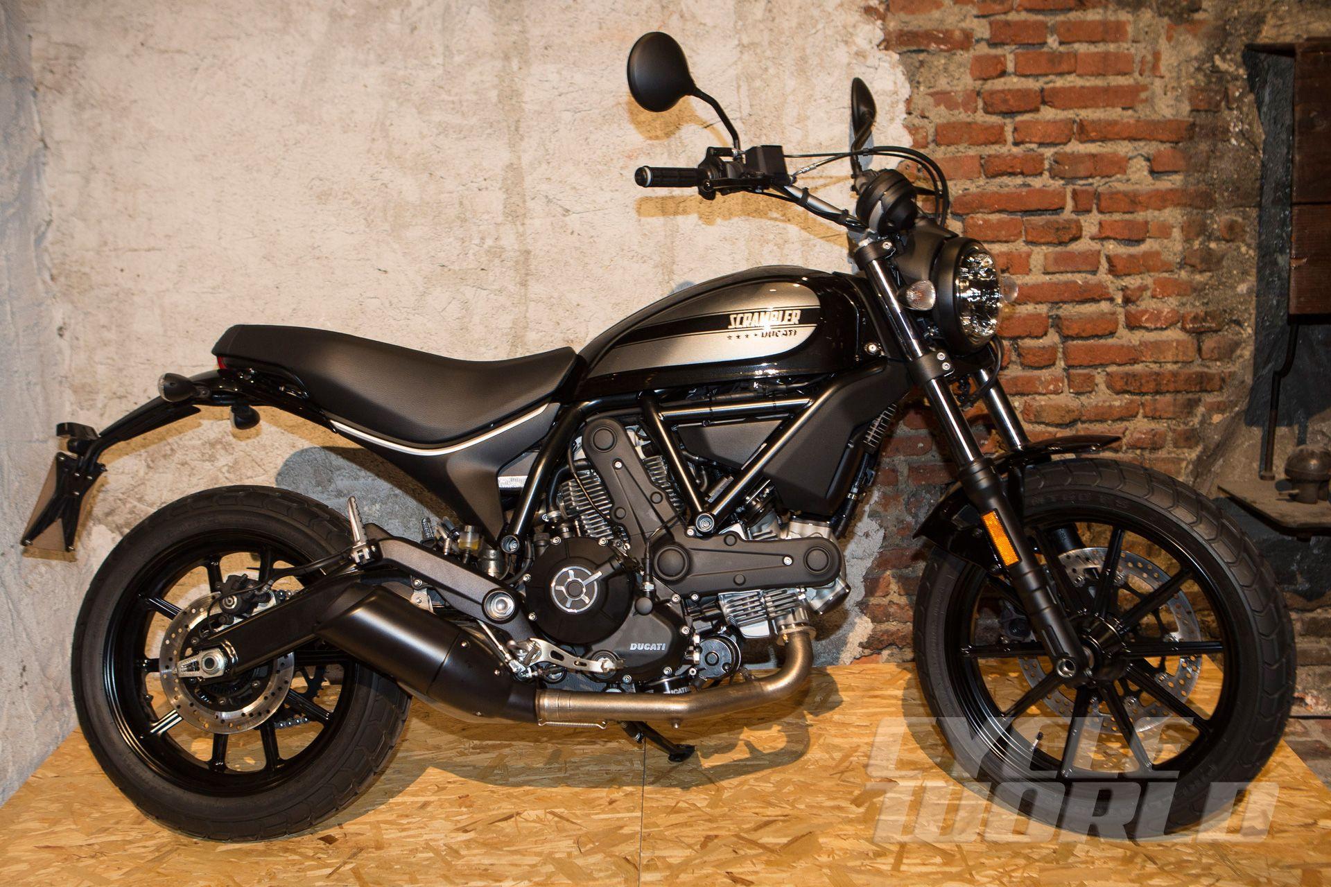 Cycle World - EICMA 2015 FIRST LOOK: 2016 Ducati Scramber ...