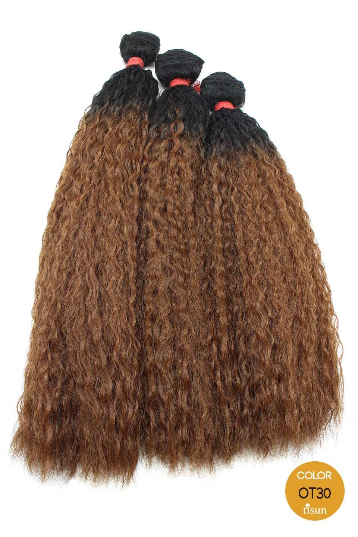 Organique Master Mix Human Hair Blend Weaving Hair Super Wave Color