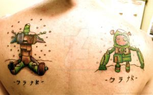 Clannad Tattoo Robot Updated By Tomo Takahashi