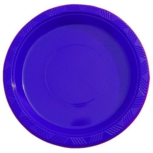 9\  Dark Blue plastic plates (10) by Crown Display Inc.. $1.09. Disposable - cleanup is easy!. 9\  high quality plastic plates. Budget friendly.  sc 1 st  Pinterest & 9\