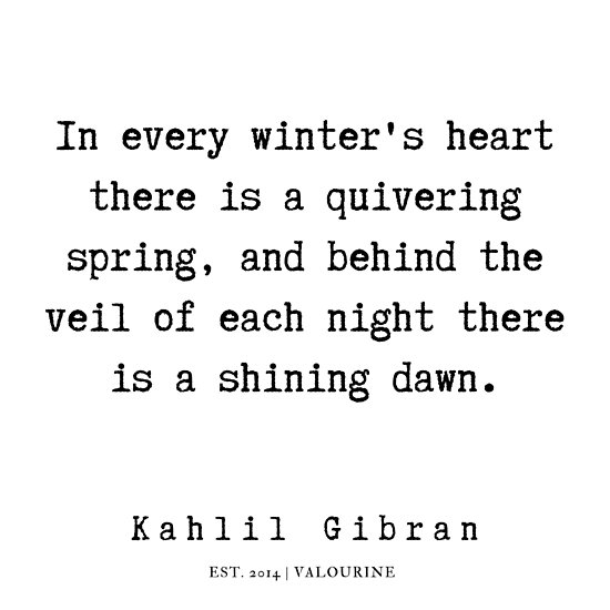 66 | Kahlil Gibran Quotes | 190701 Poster by valourine