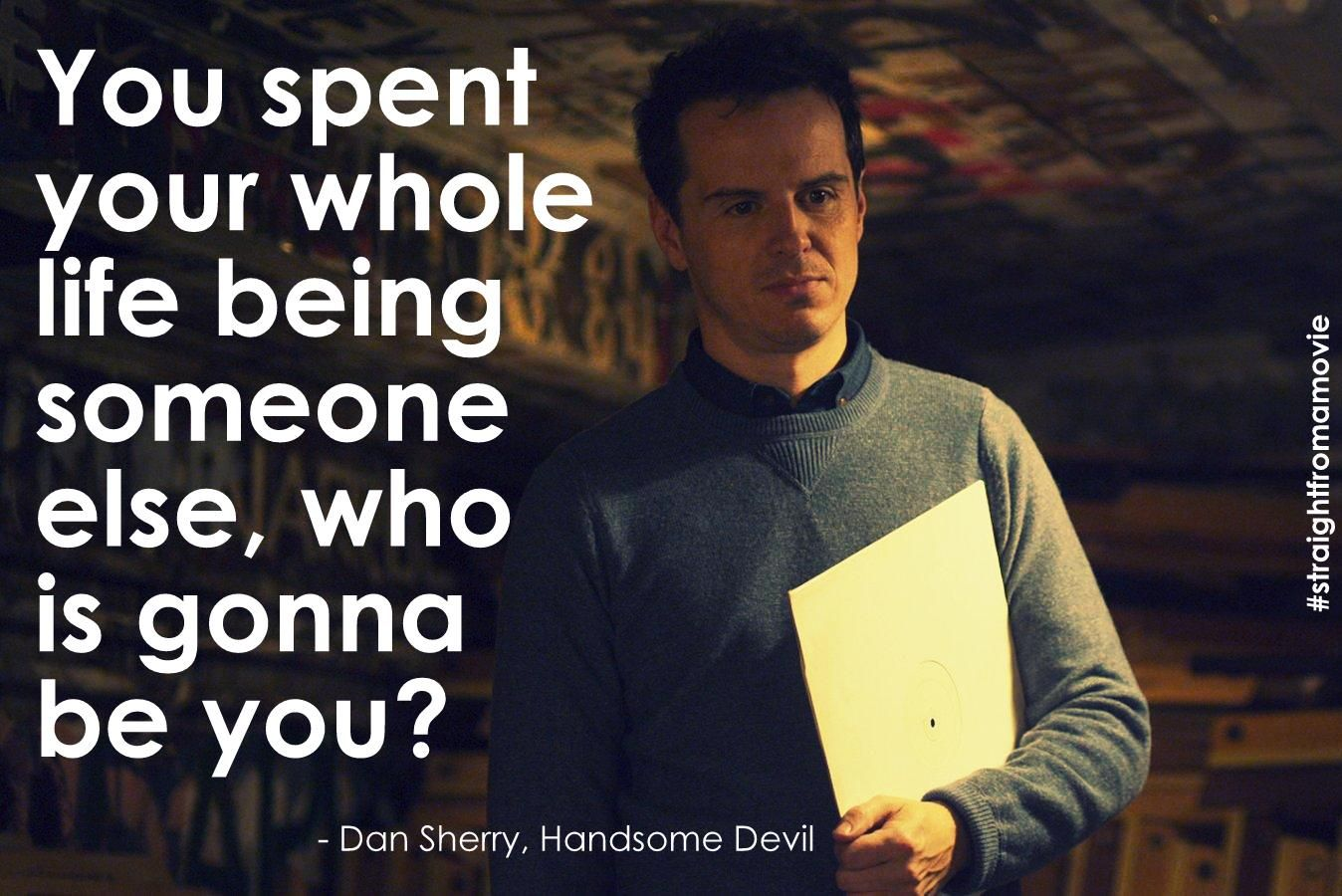 Quote From Handsome Devil Straight From A Movie In 2019 Movie