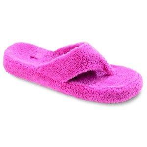 9b249acf8 Terry Cloth Flip Flops - Polyvore