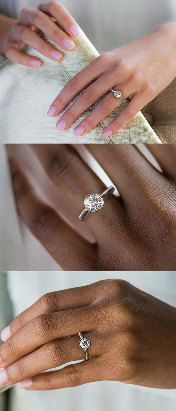 20 Unique Tension Engagement Rings That Will Make Her Say Yes
