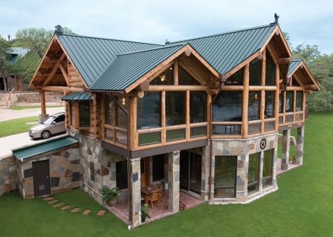 Metal Roofing Gallery Category Cf Ivy Green 6 Image Cf Ivy Green 6 1 Metal Roof Craftsman Style Exterior Roofing