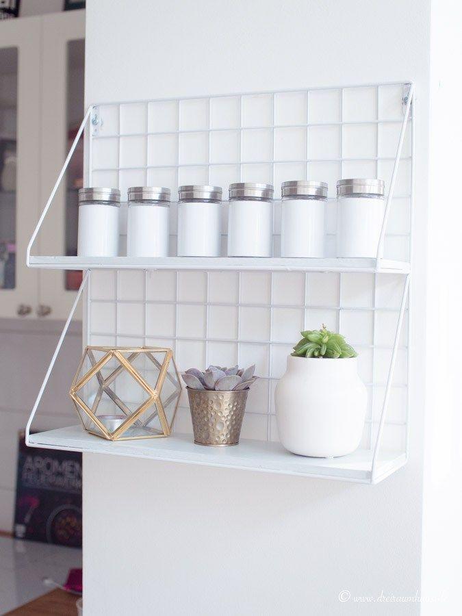 LIVING: Küchenorganisation in einer Ikea Küche und DIY ...
