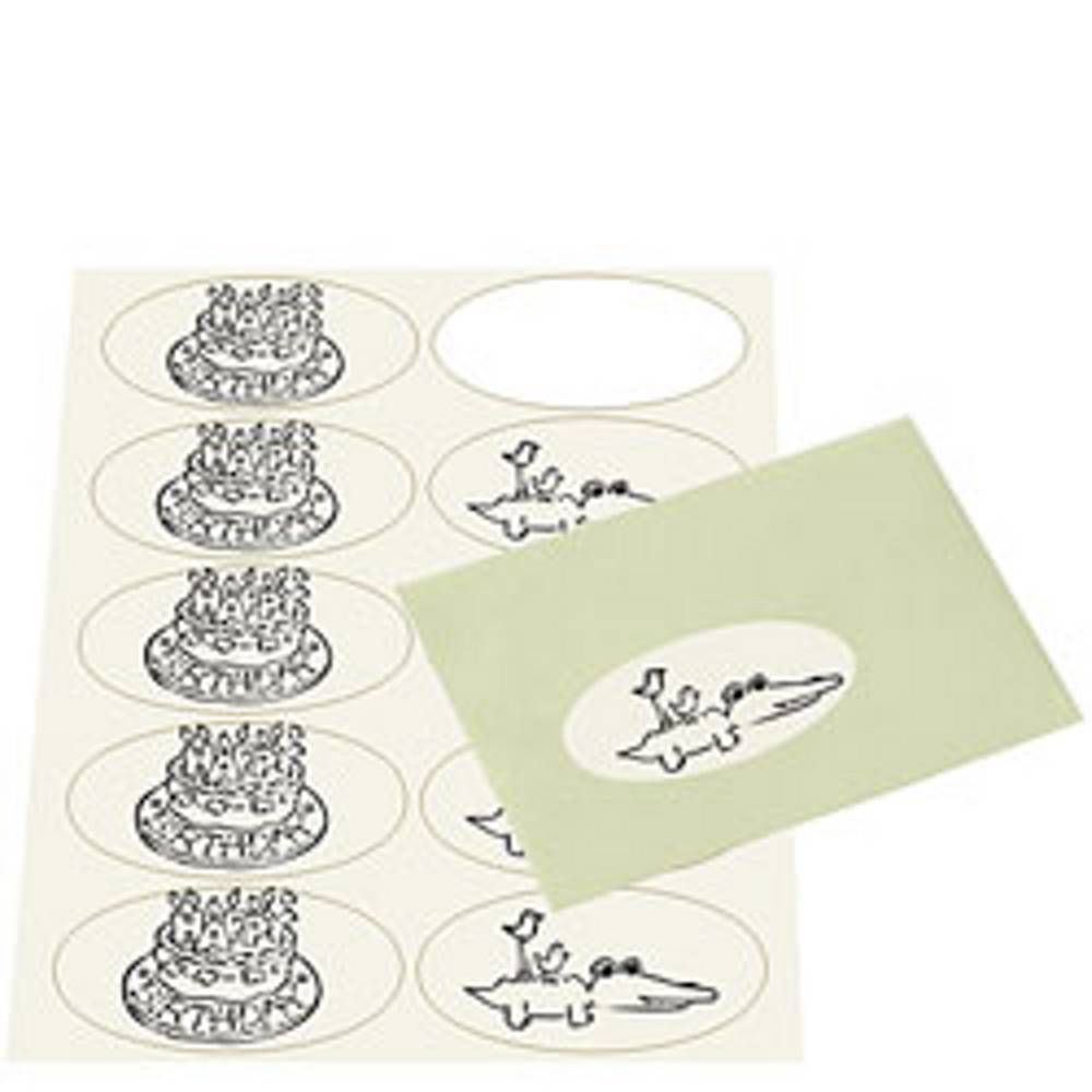 Eco White Oval Printable Labels Paper Source Paper Sticker Labels Printable Labels Blank Printable Stickers