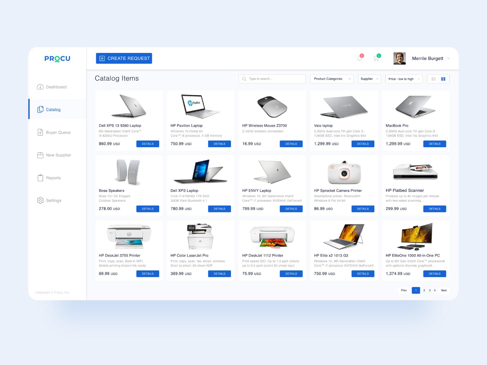 Procurement Dashboard Free Download In 2020 Dashboard Design Procurement Dashboard