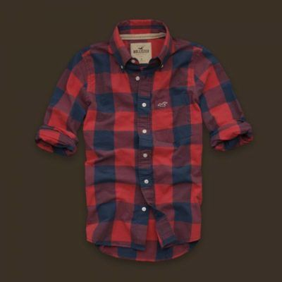 Hollister Manhattan Beach Plaid Shirts Sale in Hollister Outlet Online