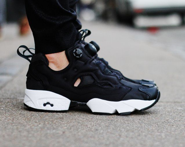49fcdc868f1 A short history of high-heeled shoes  how men s wear became a wardrobe  staple for women. Rezet Store - Womens sneakers - Reebok - Reebok - Insta  Pump Fury ...