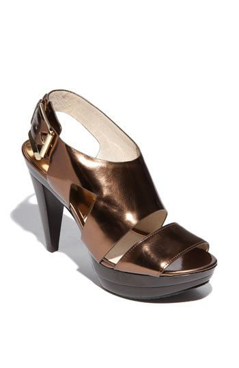 b252a1a022be MICHAEL Michael Kors Carla Sandal available at #Nordstrom | Fashion ...