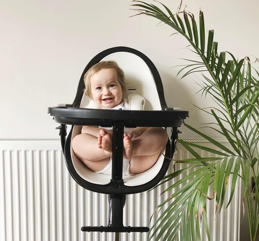 Bloom Fresco Chrome In Black Noir World S Tallest High Chair