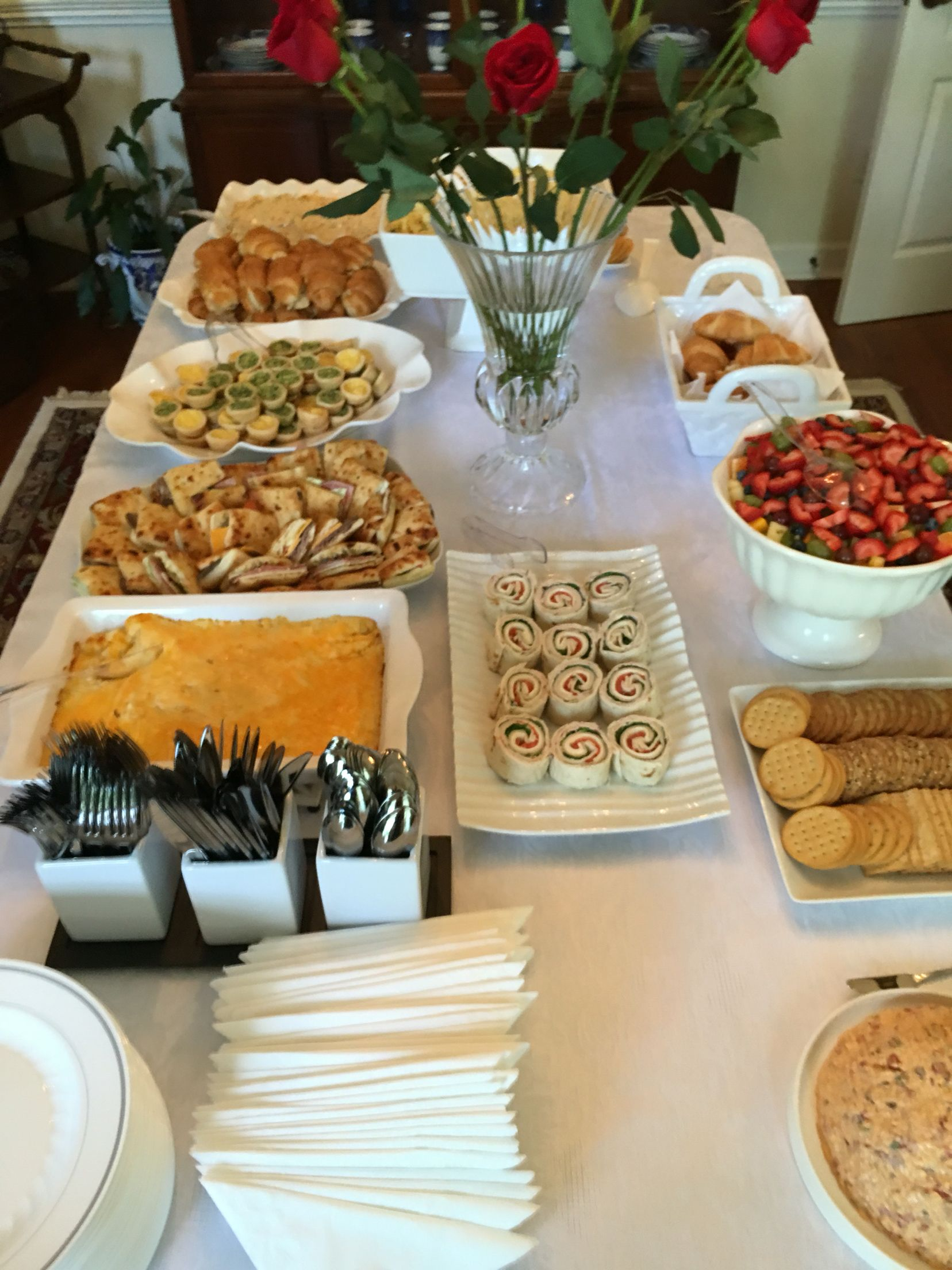 Bridal Shower Brunch Find This Pin And More On Brunch Menu Ideas
