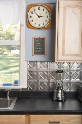 How To Re Glue A Laminate Countertop Diy Kitchen Backsplash Budget Kitchen Remodel Diy Backsplash