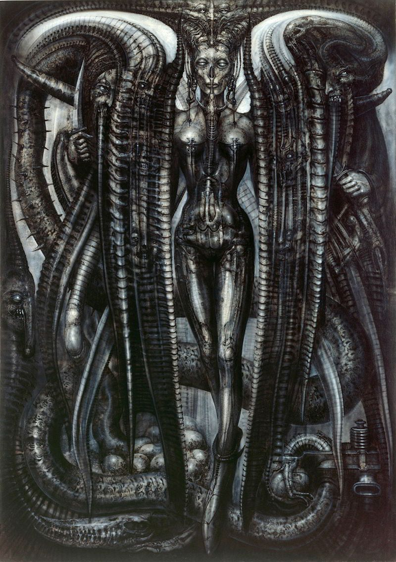 Hr giger tattoo designs - Lilith By H R Giger Hans R Di Giger