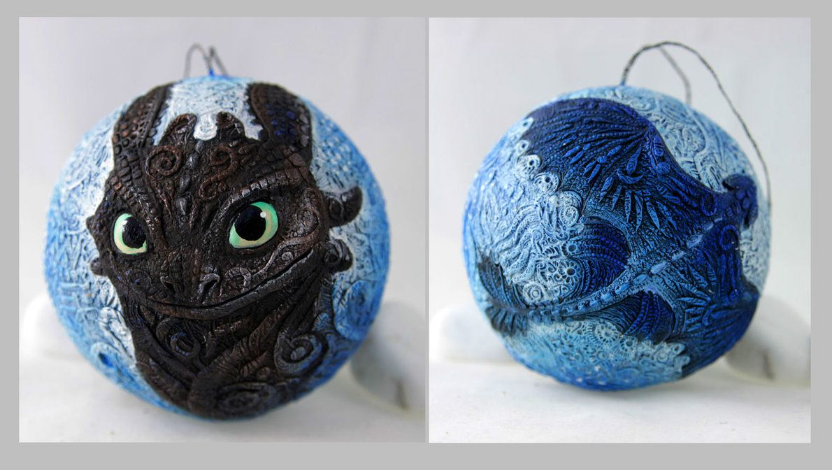 Toothless Christmas ball by hontor on DeviantArt ...