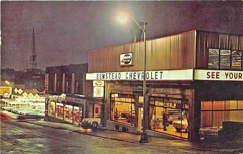 Troy NY W. H. Bumstead Chevrolet Car Auto Dealership
