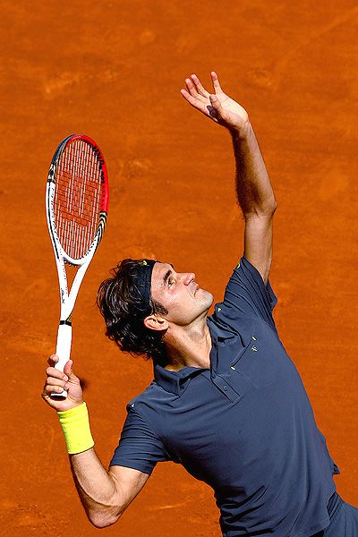 You may support another player (personally a Djokovic fan) but you must admit that this guy is tennis perfection