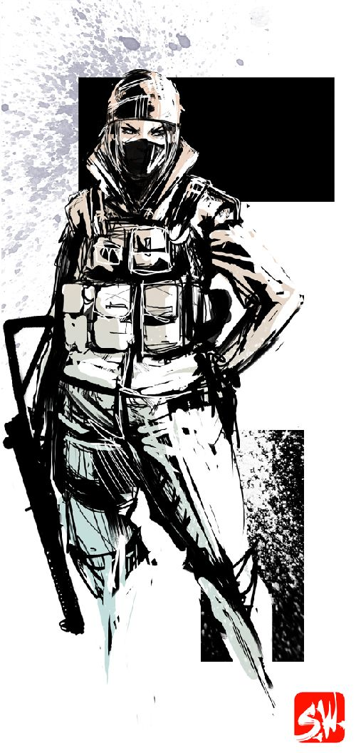 Rainbow 6 Siege Frost By Skizzleboots With Images Rainbow Six