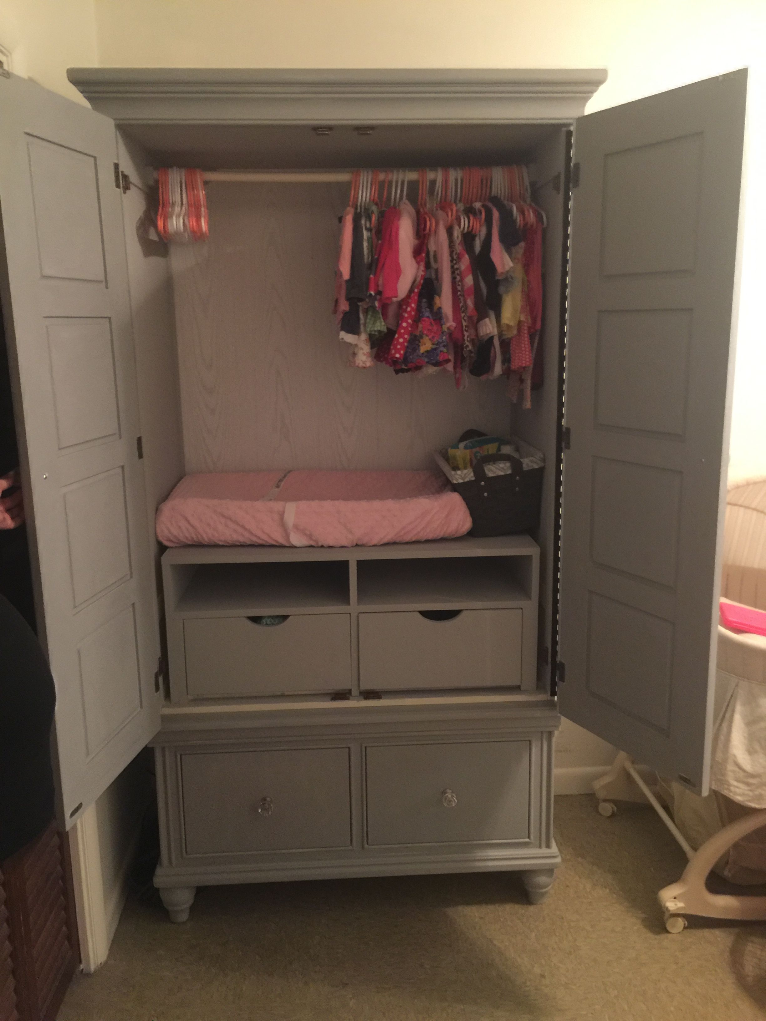 Baby Changing Table Dresser Closet