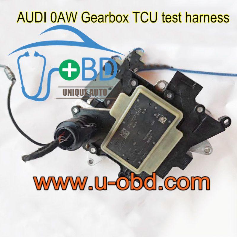 Audi Multitronic 0aw Gearbox Tcu Test Harness Platform Cables Www