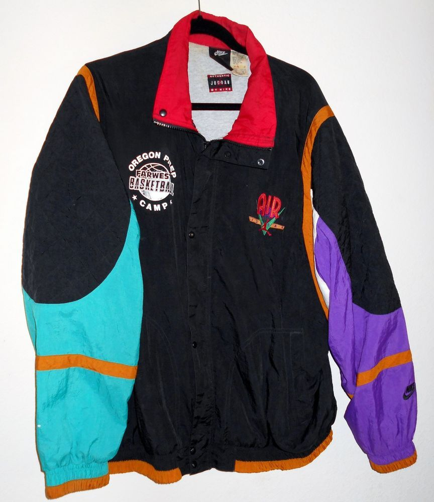 6c91ae3900abdb Vintage Authentic NIKE AIR JORDAN Jacket Windbreaker Extra Large XL Thailand