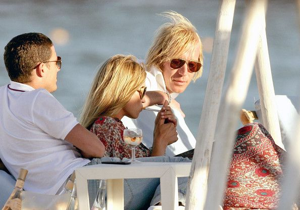Kate Moss in Saint Tropez with Friends