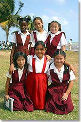 Children of Belize.