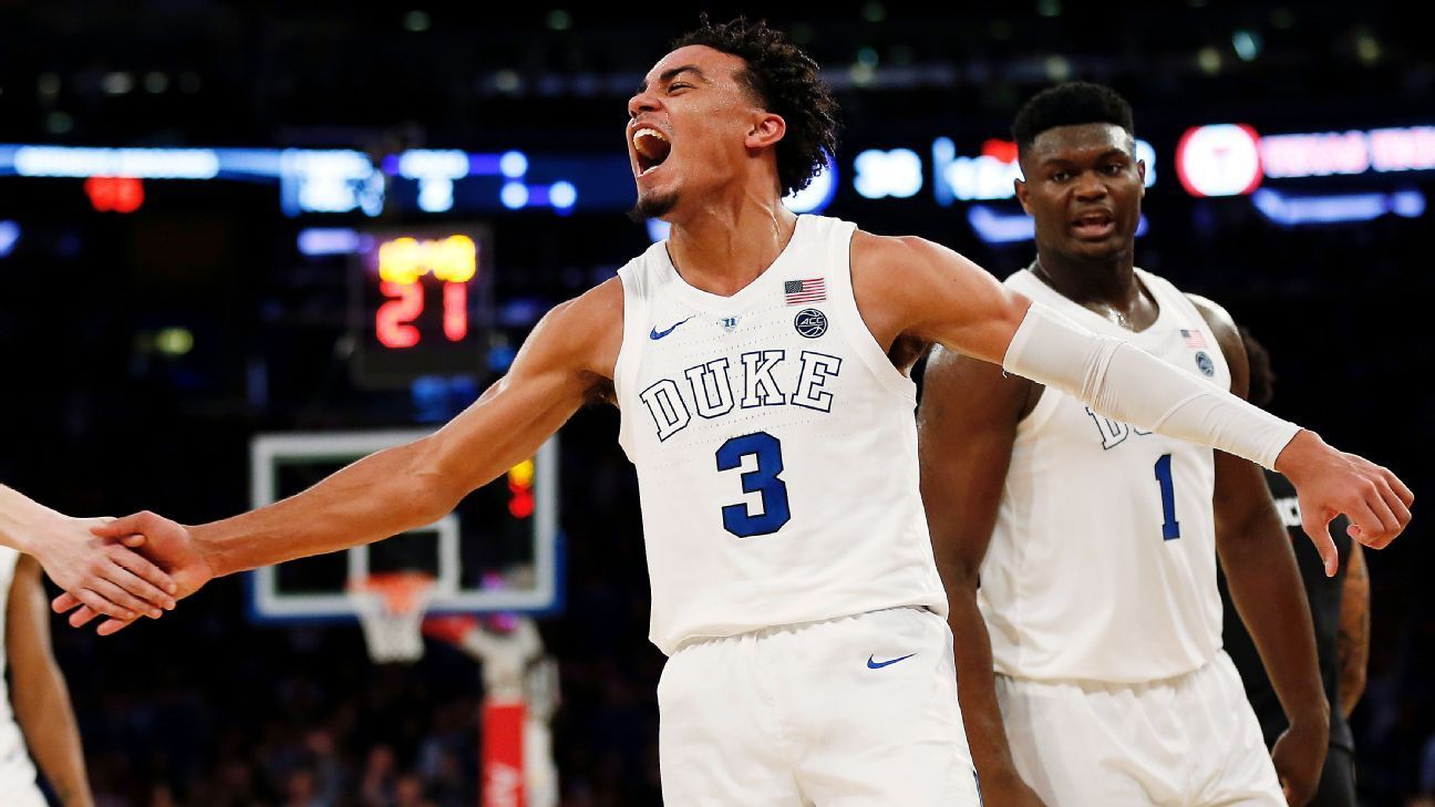 Duke Blue Devils reclaim No. 1 in AP poll Kansas Jayhawks