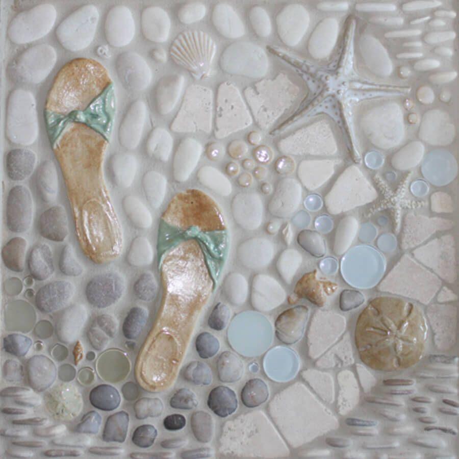 - Nautical Tiles For Your Beach House. Custom Borders & Murals