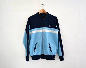 PUMA Vintage pista chaqueta   tamaño L  e671eaaebfc