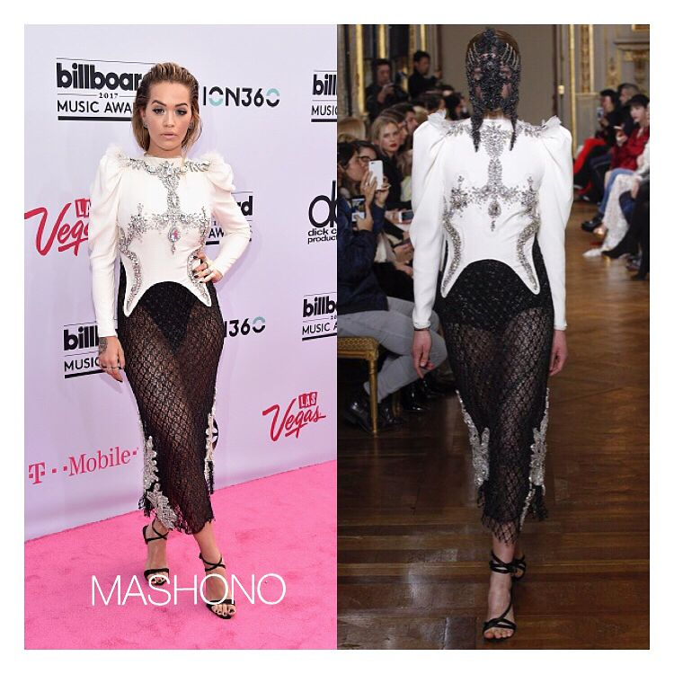 #ritaora rocking #francescosconamiglio Couture at the 2017 #BillboardMusicAwards #BBMAs #music fashion #style #celebritystyle  #celebrity #instafashion #instastyle #looks #itsmashono http://tipsrazzi.com/ipost/1519957610902709390/?code=BUX-WTfgeSO