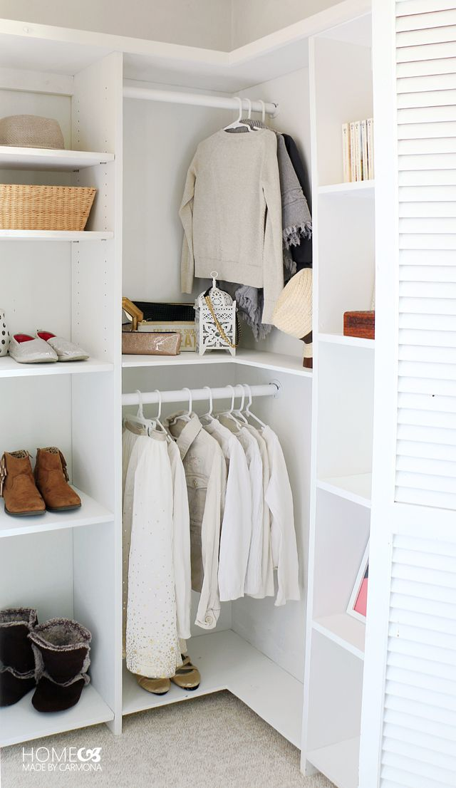 Learn How To Build A Stunning Custom Closet System That Doesn T Waste Any E These Free Plans Are Perfect For Deep Closets Not Walk In