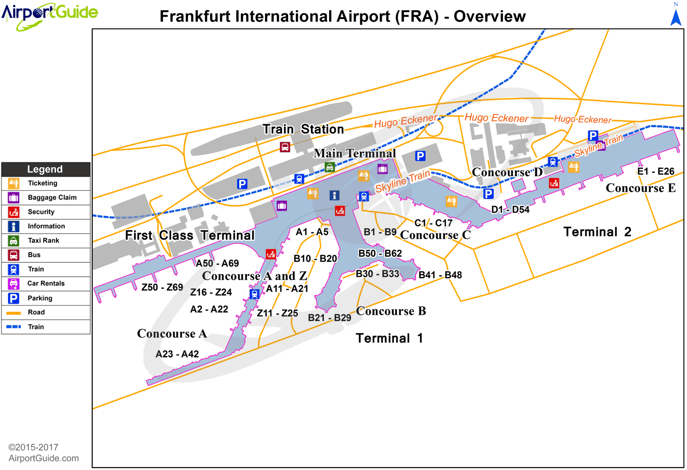 frankfurt am main airport map Frankfurt Am Main Frankfurt Am Main International Fra Airport frankfurt am main airport map