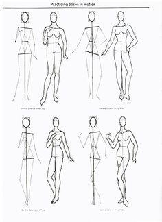 Adobe Illustrator Flat Fashion Sketch Templates - My 37