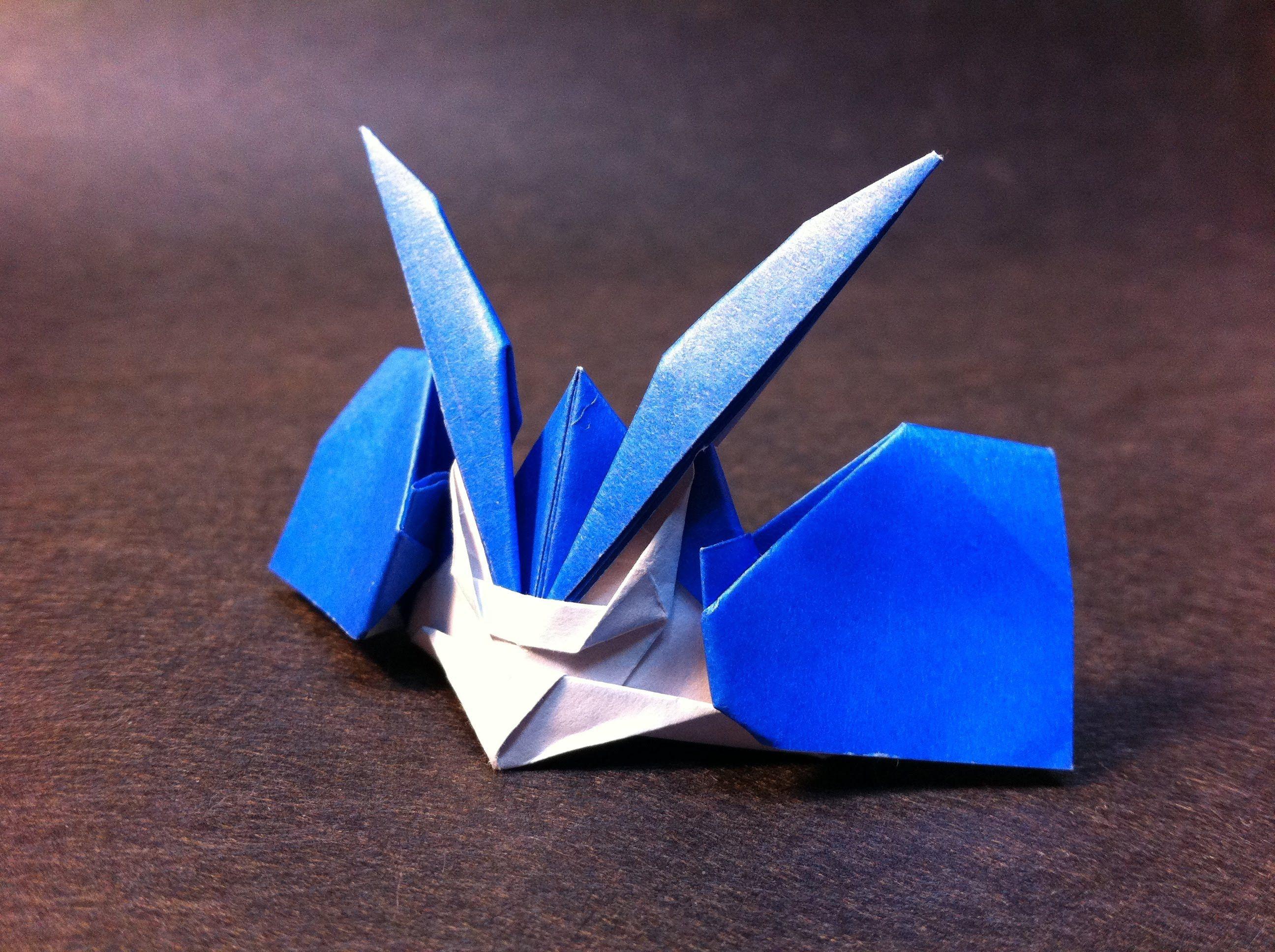 Tall Samurai Hat origami | Origami diagrams, Origami crafts, Paper ... | 1936x2592