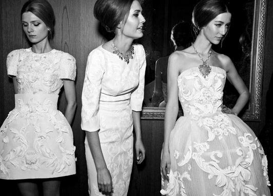 Dolce & Gabbana\'s Alta Moda Collection Preview, Danielle Sherman as ...