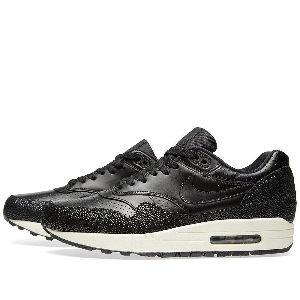 newest 8af17 82bb8 Nike Air Max 1 PA  Stingray  (Black   Sea Glass)