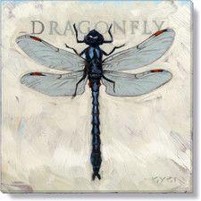 Gygi Dragonfly Canvas Wall Art