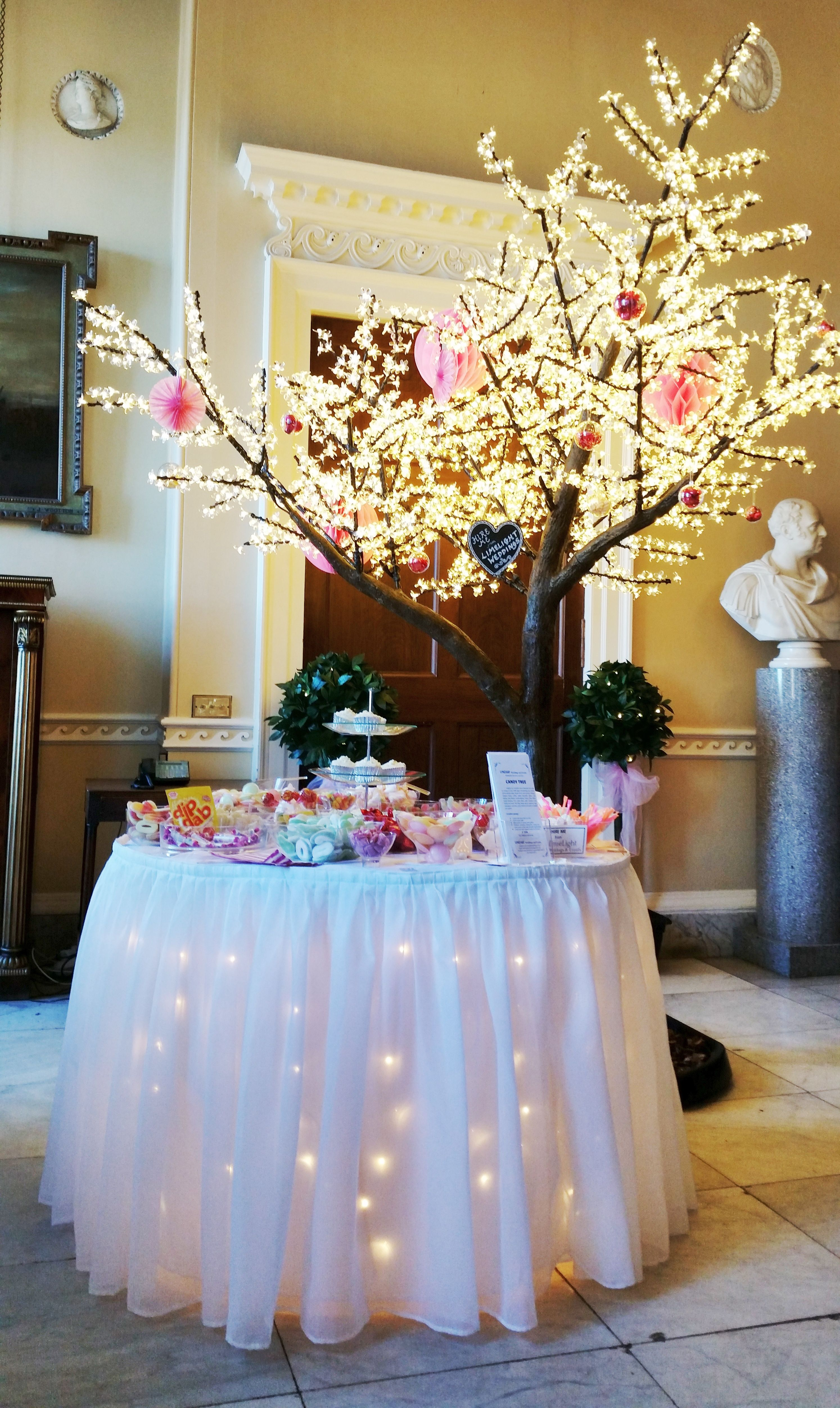 Candy table under the cherry blossom tree at hopetoun house nr candy table under the cherry blossom tree at hopetoun house nr edinburgh in october 2016 junglespirit Choice Image