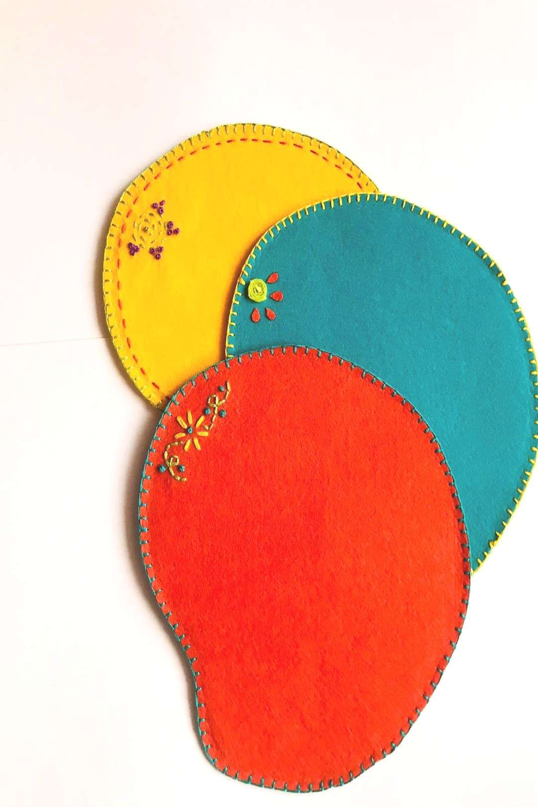 Tired of usual mouse pads Wanna try some funky ones to make yourYou can find Felt crafts and more on our we