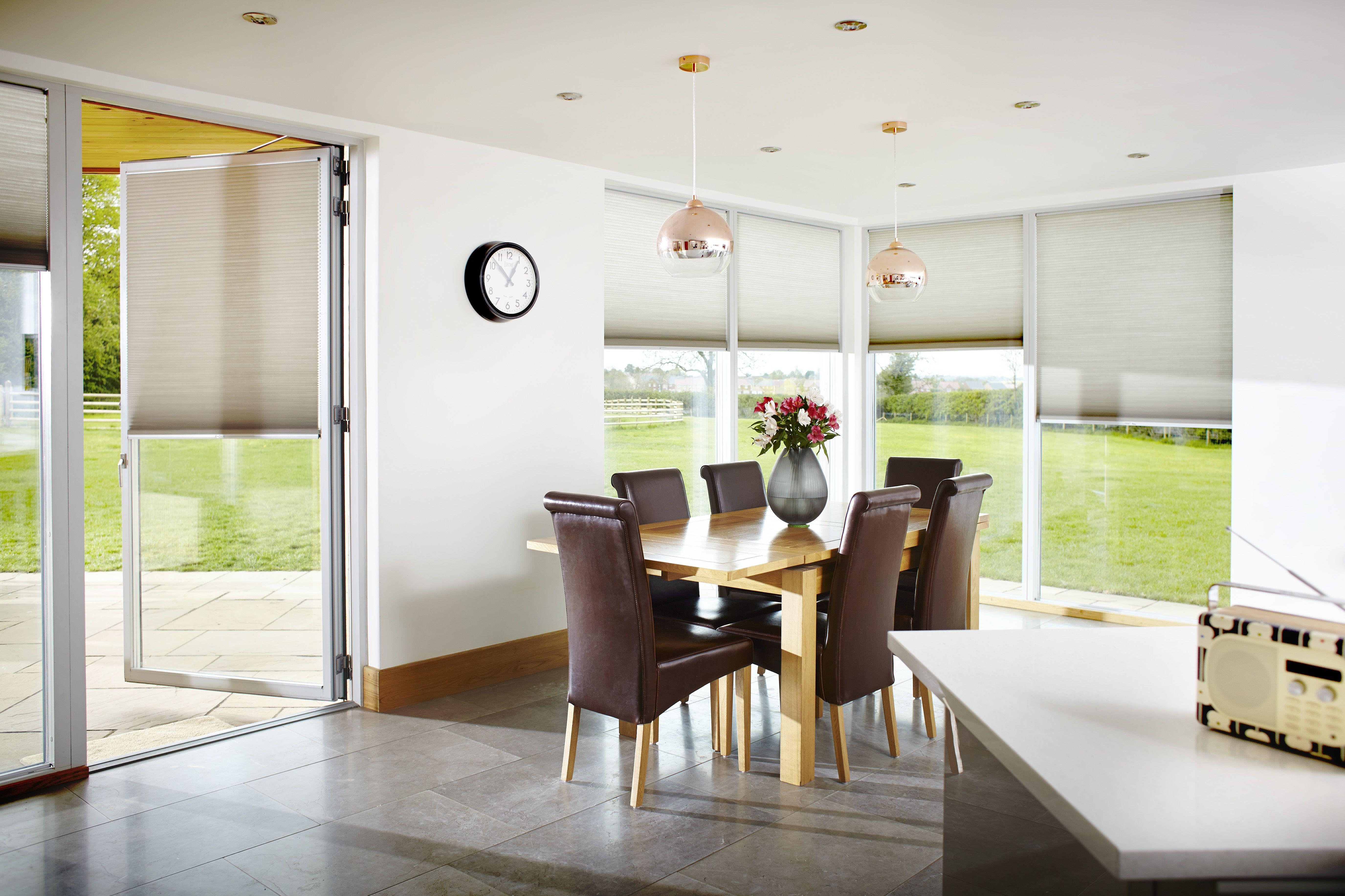 Duette energy saving blinds. Kitchen blinds. Neutral home decor ...