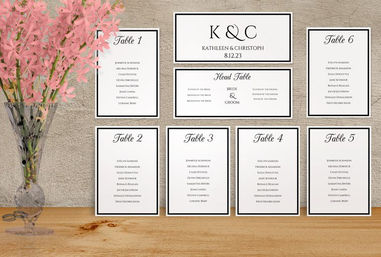 Sample wedding seating chart template free example format examples in pdf word psd also scrabble pinterest rh