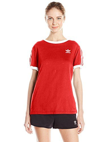 919a338a adidas Women's Originals 3 Stripes Tee | Style Fashion | Adidas ...