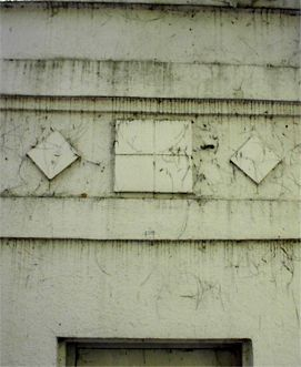 The Detail Of The Alum Rock Natatorium Still Visible After