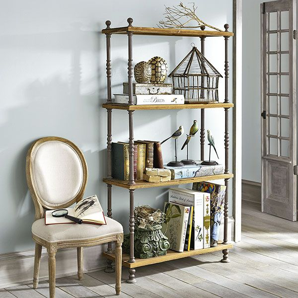 French Shopkeeper S Shelves Shelves Amp Bookcases Wisteria