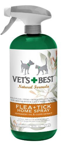 $11.21-$14.99 Kicks fleas out of the house. Our unique blend of Peppermint Oil and Clove Extract banishes fleas – and flea eggs – from pet surroundings by killing them by contact. This safe, natural protective formula also leaves an invigorating, fresh scent.