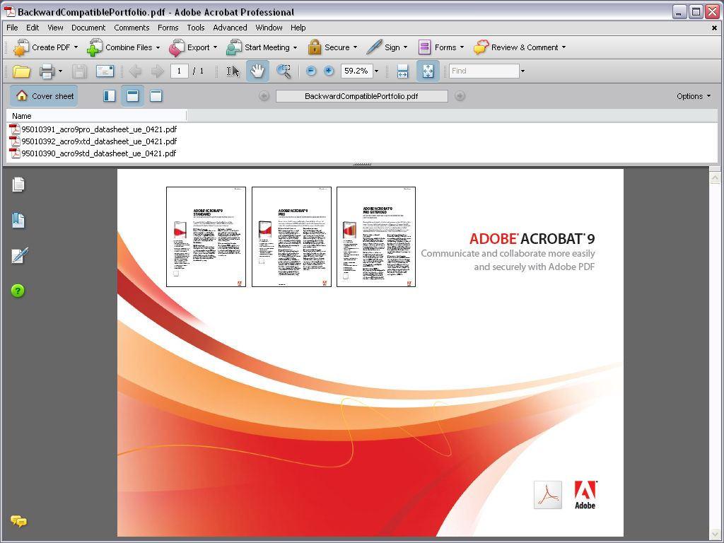 Adobe acrobat reader 9 free