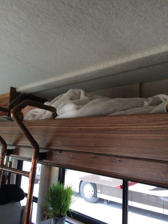 Pin By Fletcher On Motorhome Bunk Bed Ladders Rv